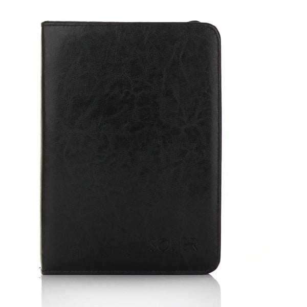 Organizér v deskách Solier ST02, černá