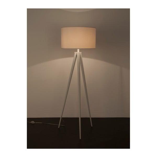 Bílá stojací lampa Zuiver Tripod