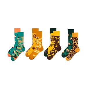 Sada 4 párů ponožek v dárkovém balení Many Mornings Heat, vel. 43–46