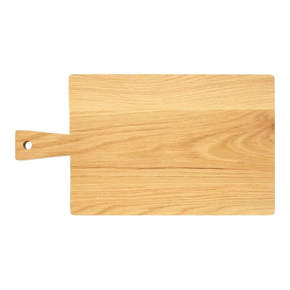Krájecí prkénko z dubového dřeva Premier Housewares, 24 x 44 cm