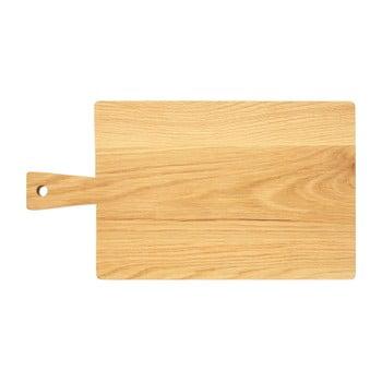 Tocător din lemn de stejar Premier Housewares, 24 x 44 cm imagine