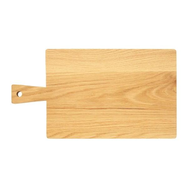 Deska z drewna dębowego Premier Housewares, 24x44 cm