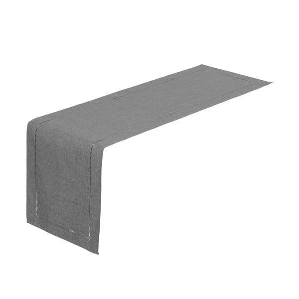 Szary bieżnik na stół Unimasa, 150x41 cm