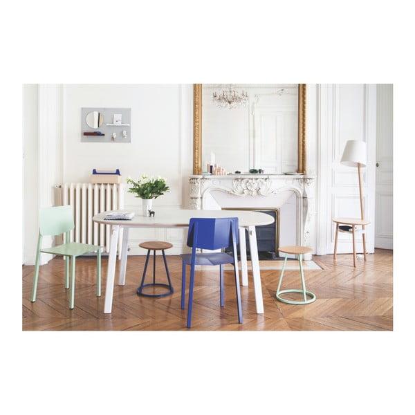 Světle zelená kovová jídelní židle HARTÔ Rosalie
