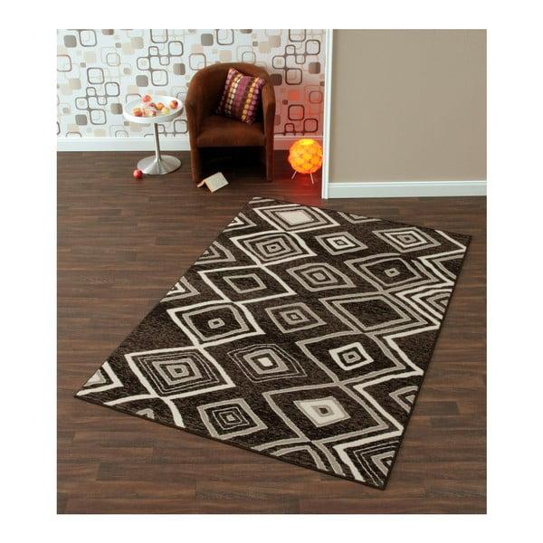 Šedý koberec Prime Pile, 80x150 cm
