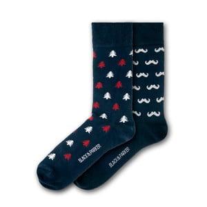 Sada 2 párů ponožek Black&Parker London Forbury Gardens, velikost 37 – 43