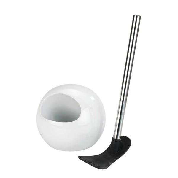 Bílý toaletní kartáč Wenko Rimless Neo