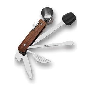Multifunkční barmanský nástroj s dřevěným detailem Corkcicle Bar10der