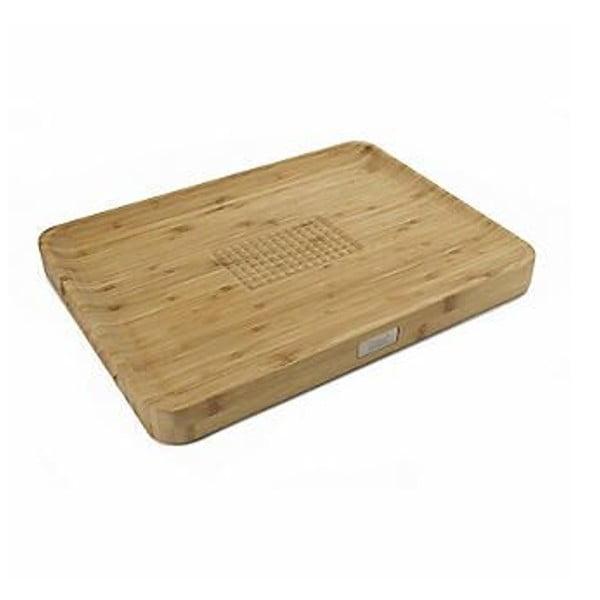 Cut&Carve bambusz vágódeszka, 40 x 30cm - Joseph Joseph