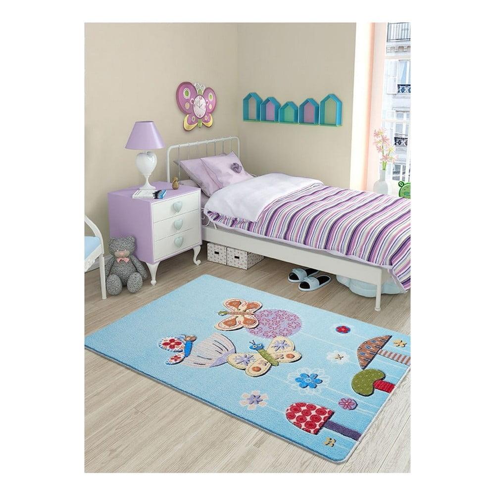 Dětský koberec Butterfly Effect, 100 x 150 cm