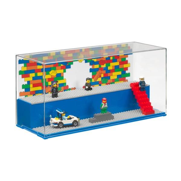 Cutie depozitare piese LEGO®, albastru