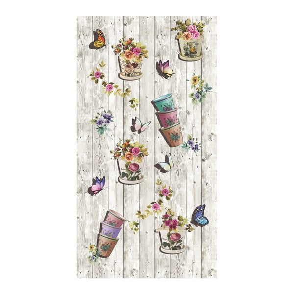 Odolný koberec Vitaus Recclo, 50 x 80 cm