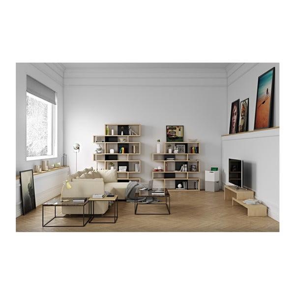 Bílý úložný box ke knihovně TemaHome Berlin