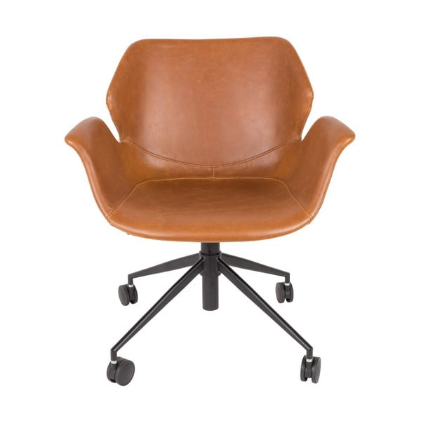 Scaun birou Zuiver Office Chair Nikki, maro
