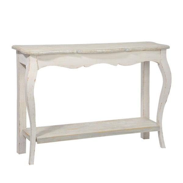 Dřevěný konzolový stolek Oak Grey