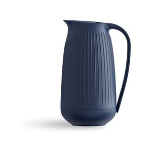 Tmavě modrý plastový džbán Kähler Design Hammershoi Thermos Jug, 1 l