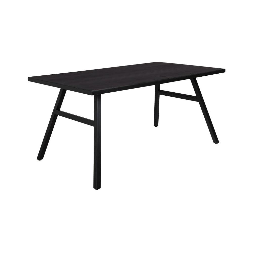 Černý stůl Zuiver Seth, 180 x 90 cm