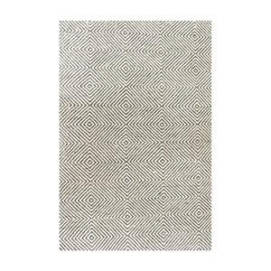 Covor de lână Silo Ivory, 120x183 cm