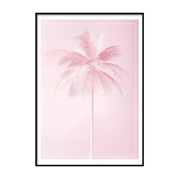 Nástěnný plakát v rámu PARADISE/POSTCARD, 50x70cm