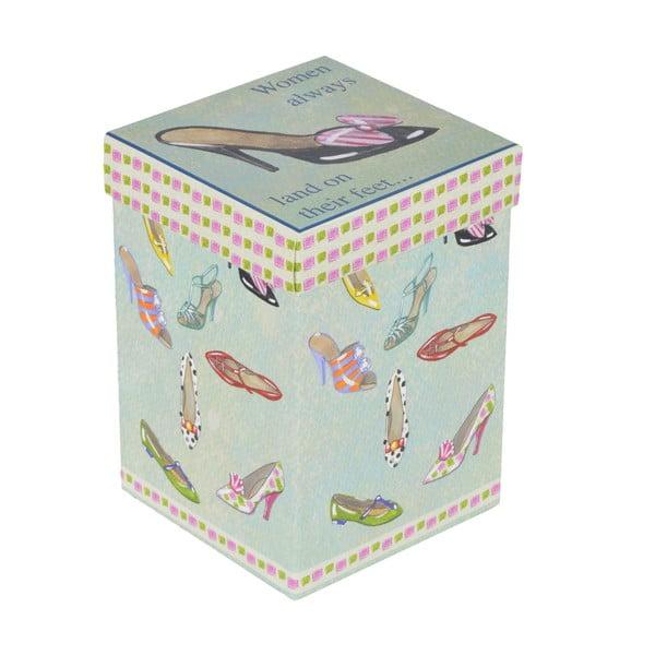 Hrnek s víčkem Boty, v dárkové krabičce
