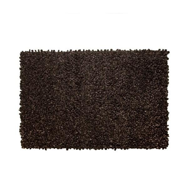 Koberec Velvet Black, 140x200 cm