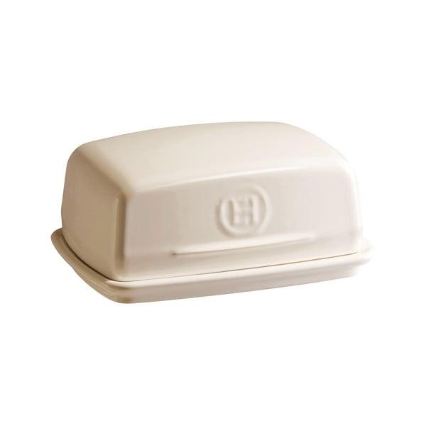 Nádobka na maslo vo farbe slonovinovej kosti Emile Henry