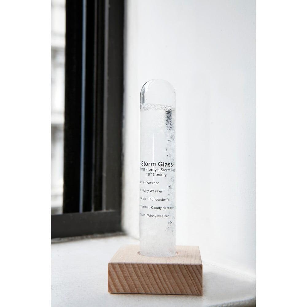 Meteorologická bouřková sklenička Kikkerland Strom Glass