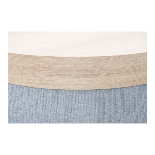 Stříbrný taburet Vivonita Jana