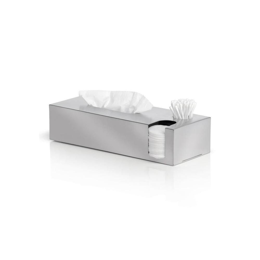 Matný nerezový box na hygienické potřeby Blomus Areo