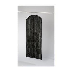 Černý závěsný obal na šaty Compactor Garment, délka137cm