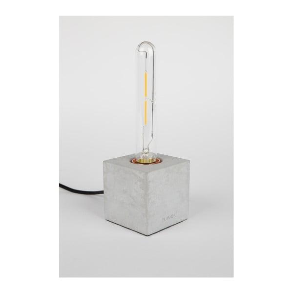 Šedá stolní lampa Zuiver Bolch