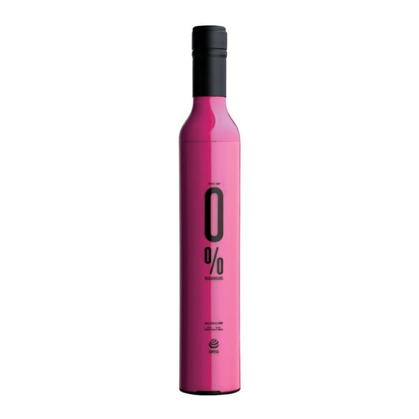 Skládací deštník 0 %, růžový