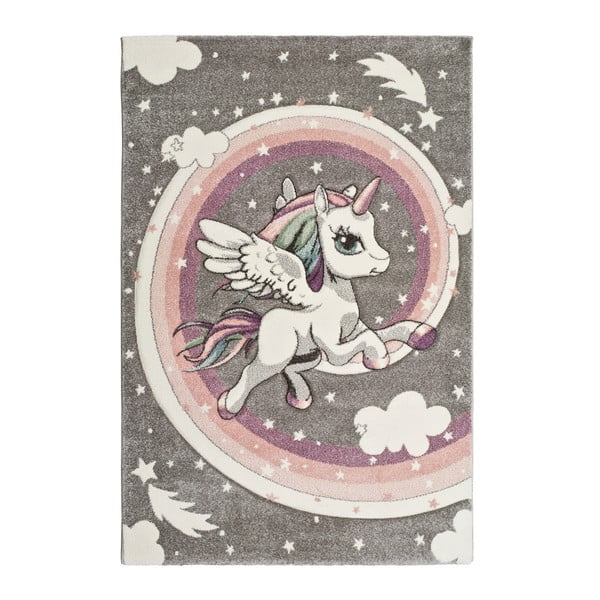 Covor pentru copii Universal Kinder Unicorn, 120 x 170 cm