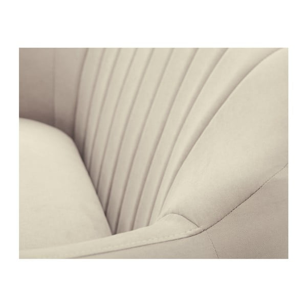 Béžová dvoumístná pohovka Scandi by Stella Cadente Maison Comete
