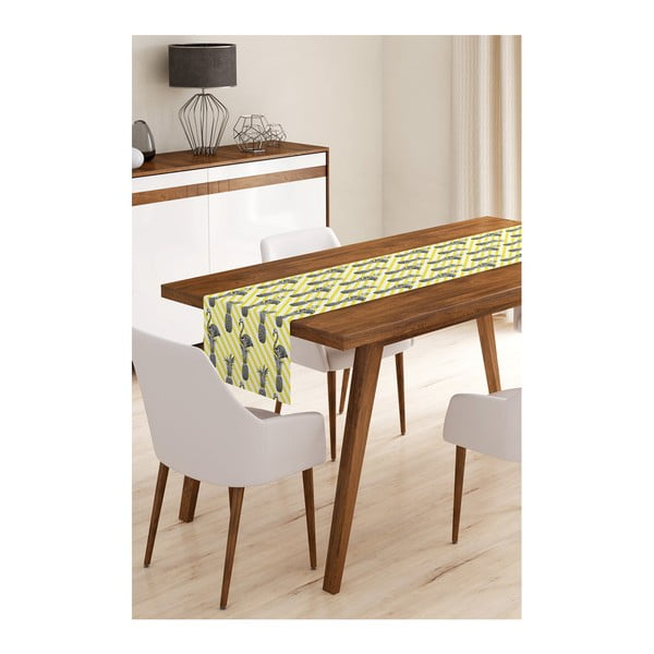 Flamengo with Pineapple mikroszálas asztali futó, 45 x 145 cm - Minimalist Cushion Covers