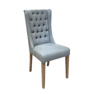 Světle modrá židle s bavlněným potahem Miloo Home Andover