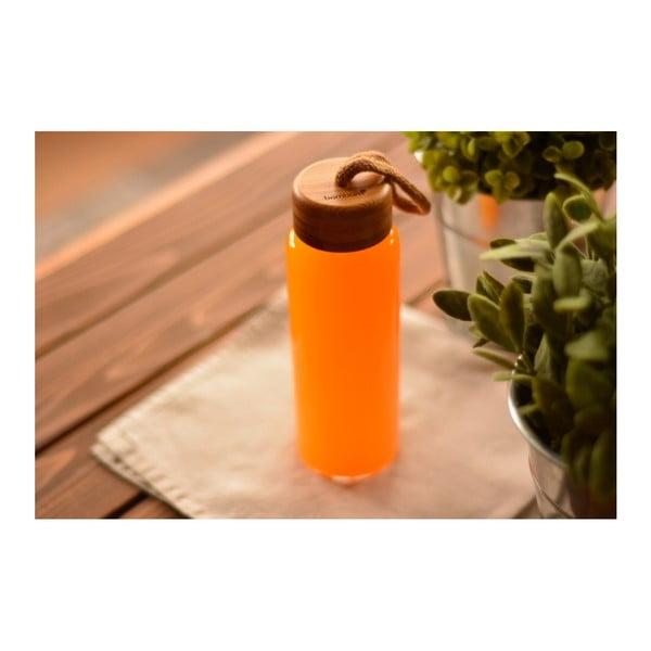 Skleněná lahev s bambusovým uzávěrem Bambum Diem, objem 325 ml