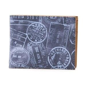 Modrá dámská kožená peněženka Alviero Martini Denim Duro