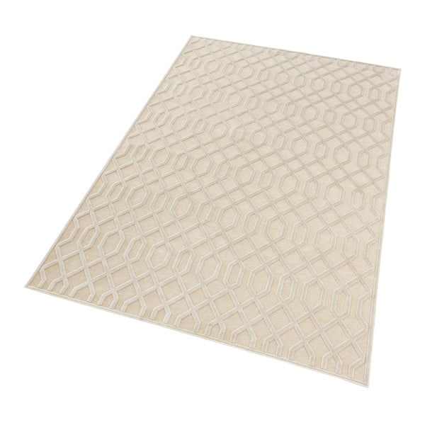 Krémový koberec Mint Rugs Shine Mero, 200 x 300 cm