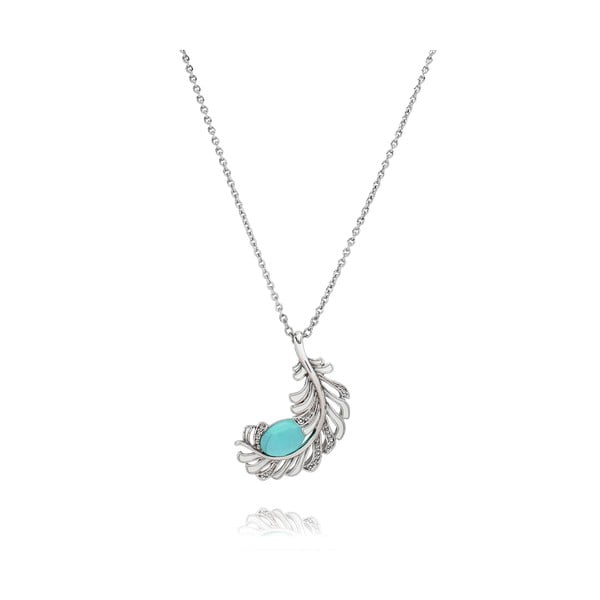 Libertad ezüstözött nyaklánc Swarovski kristályokkal - Saint Francis Crystal