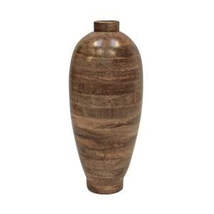 Váza z mangového dřeva Canett, výška 59cm