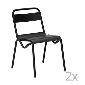 Imagine indisponibila pentru Set 2 scaune de grădină Isimar Anglet, negru