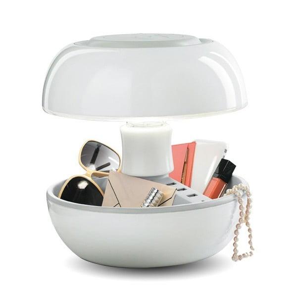 Stolní lampa a nabíječka v jednom Joyo Classic, bílá