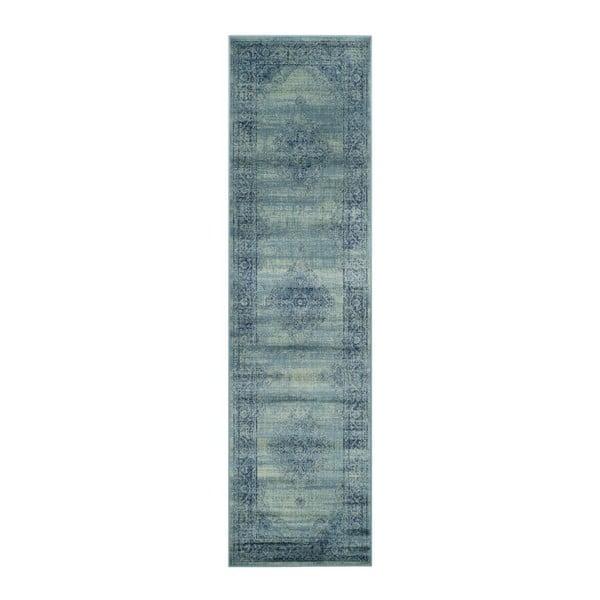 Olivia kék futószőnyeg, 66 x 243 cm - Safavieh