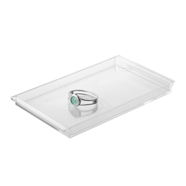 Tăviță iDesign Clarity Vanity Clear