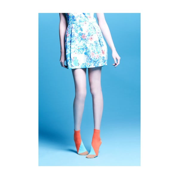 Ponožky Percy Orange, vel. 35-38