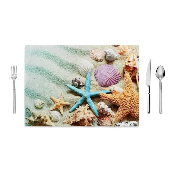 Prostírání Home de Bleu Tropical Shells, 35x49cm