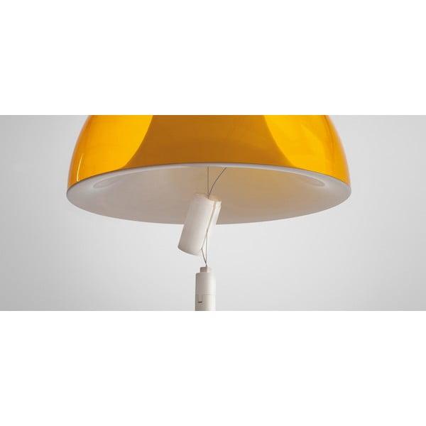 Závěsné svítidlo Pedrali L002S/BA, žluté transparentní