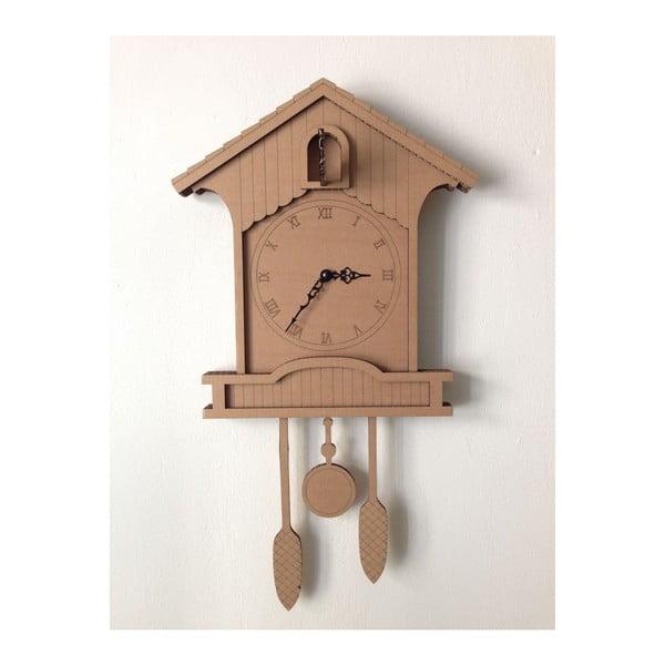 Kartonové hodiny Cuckoo clock