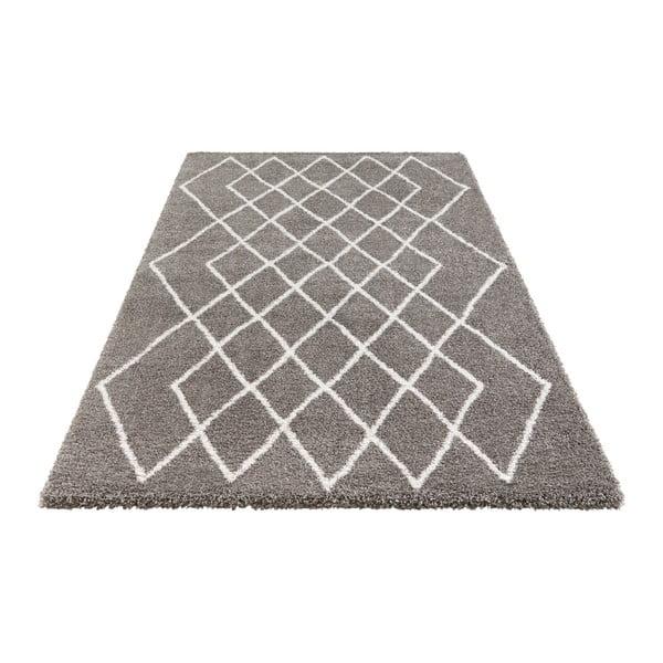 Šedý koberec Elle Decor Passion Bron, 80 x 150 cm